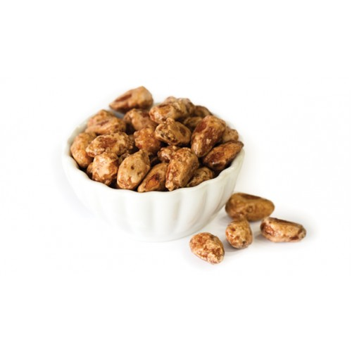 Maple syrup almonds